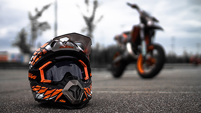 KTM MOTO HELMET COLLECTIONS